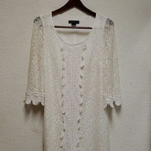 Jessica Howard Lace Crochet Dress
